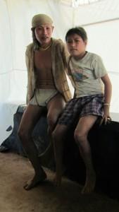 3 Stunden aus den Bergen: Vater mit 12 jähriger Tochter mit Lymphknoten tbc