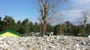 Grundschule,halb begraben
