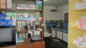 Eingangshalle mit Blick zur Küche